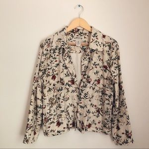 Sweet Floral Light Jacket